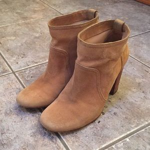 Tory Burch Shoes - Tory Burch Lindsay Suede Almond Booties